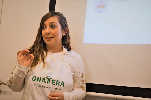 Alexandra, naturopathe Onatera, pendant l'atelier détox Terraïa