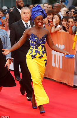 Lupta Nyong'o dazzles at TIFF 2016 in over $600,000 worth of Tiffany & Co jewelry