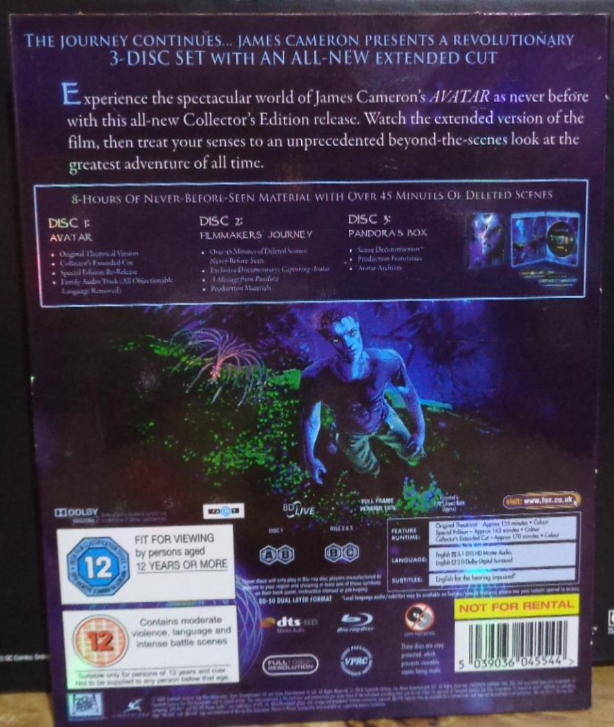 Avatar 2 Movie Trailer 2011: Movies On DVD And Blu-ray: James Cameron