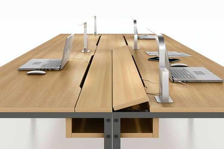 Marzua: Pasacables para escritorio: ocultar el cableado