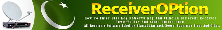 How To Enter Biss key Power vu key And Cline in Different Receivers