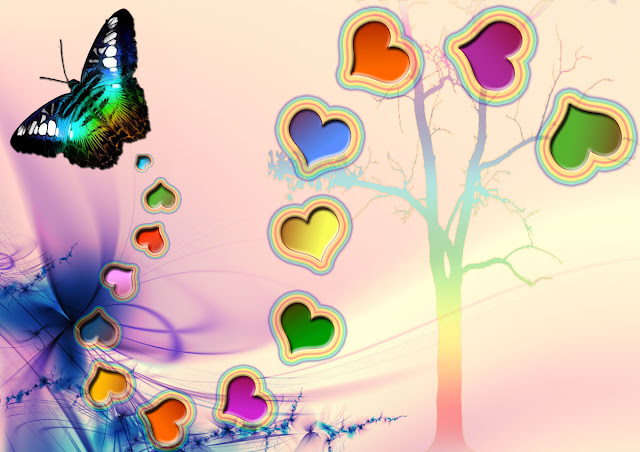 Wallpaper Cute Girl Pic News Butterfly Butterfly Love