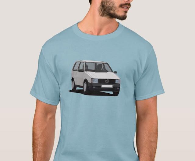 Fiat Uno t-paita - autopaita