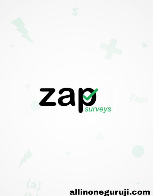 Zap surveys se kaise kamaye