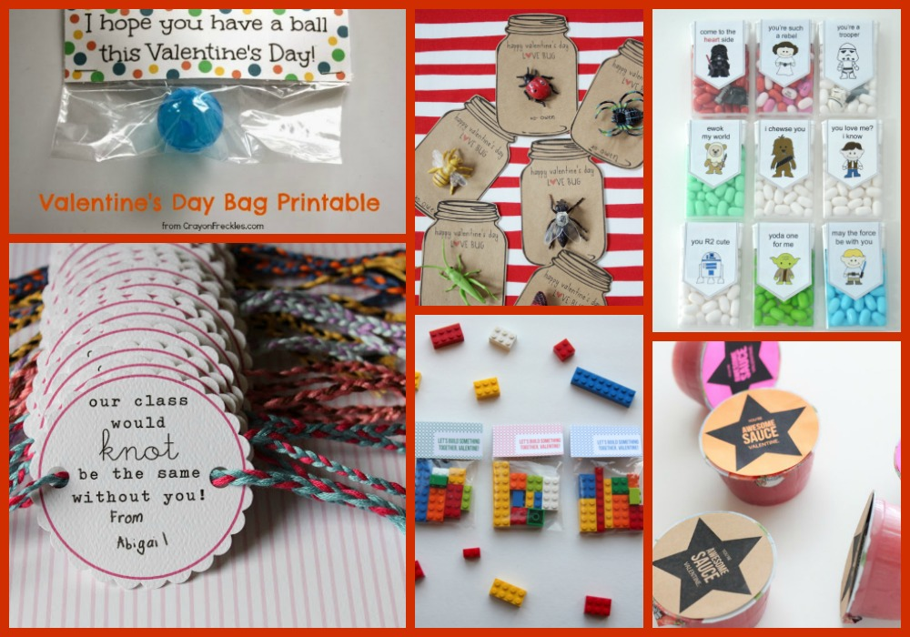 ... Non Candy Valentines For Kids. Here Are 50+ Amazing Ideas You Can Use  To Create Those Classroom Treats, Most With Free Printables For You To  Download.