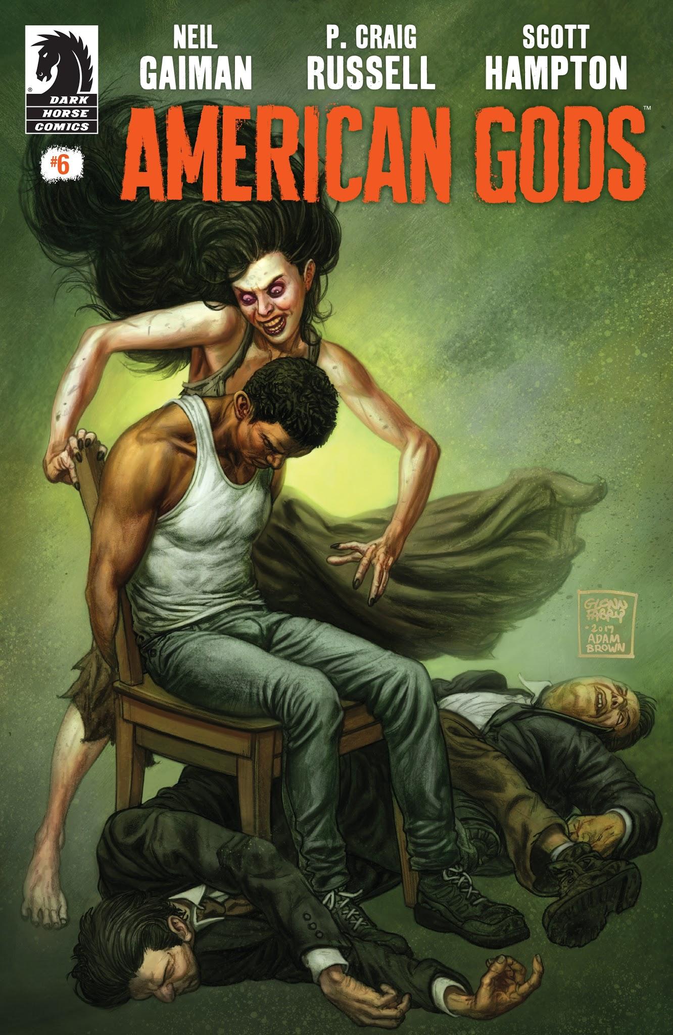 American Gods: Shadows 6 Page 1