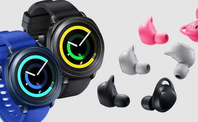 Samsung Gear Sport sẽ hạ cánh vào ngày 27 tháng 10 cùng với tai nghe thông  minh Gear IconX