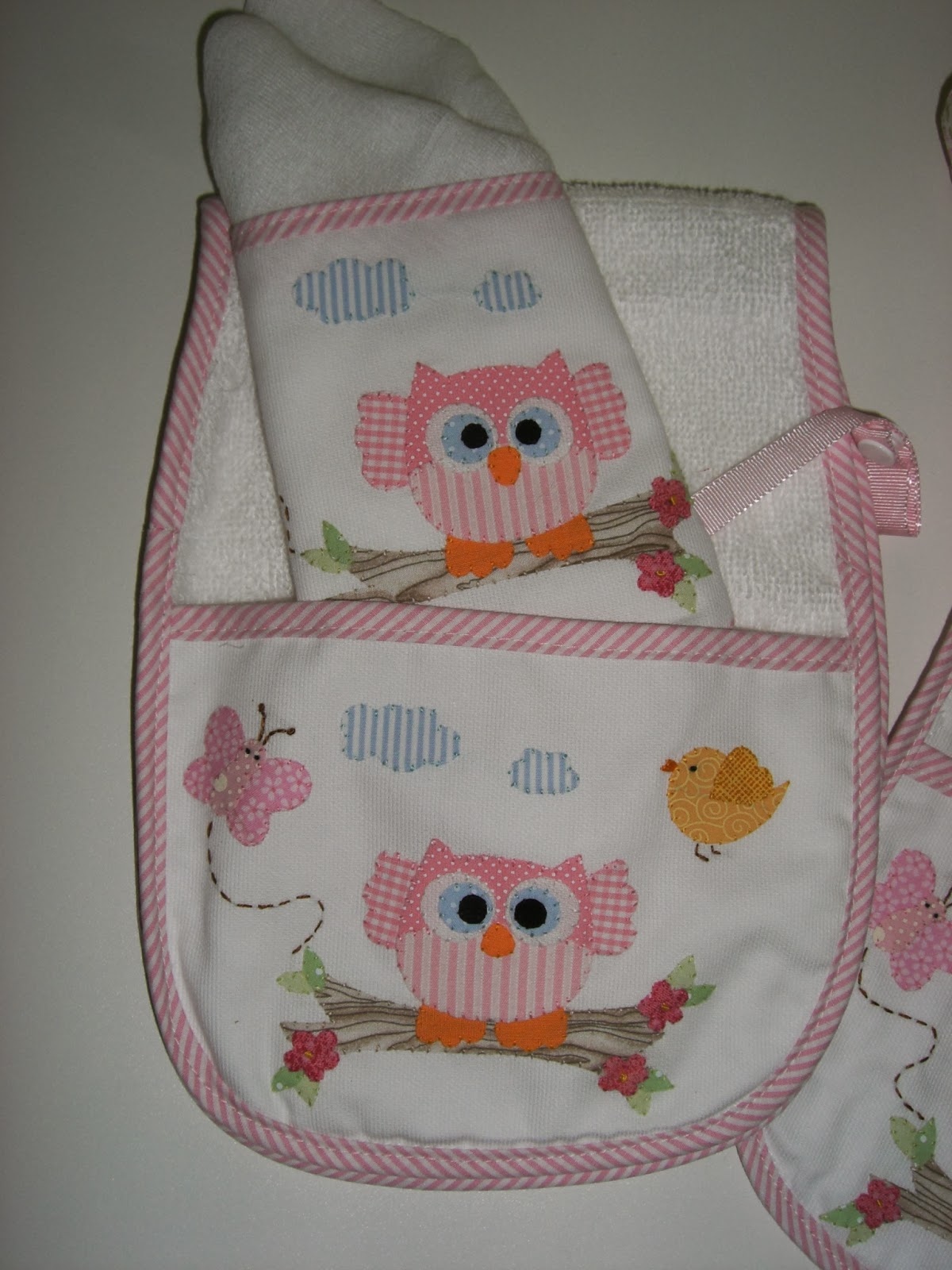 La vie en rose atelier kit para bebe personalizado - Felpa porta bebe ...