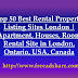 Top 50+ Free Rental Property Listing Sites | Best Vacation Rental Sites to Advertise Your Property in London, Ontario, USA, Canada