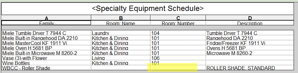 the bim jedi formally the revit jedi using the room calculation