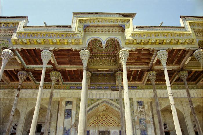Ouzbékistan, Boukhara, mosquée Bolo Haouz, iwan, © L. Gigout, 2010