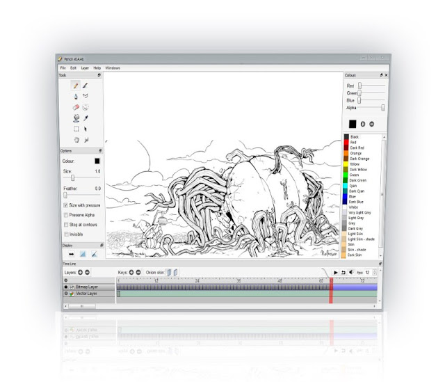 4 best free 2d animation software to use Simple drawing program for windows