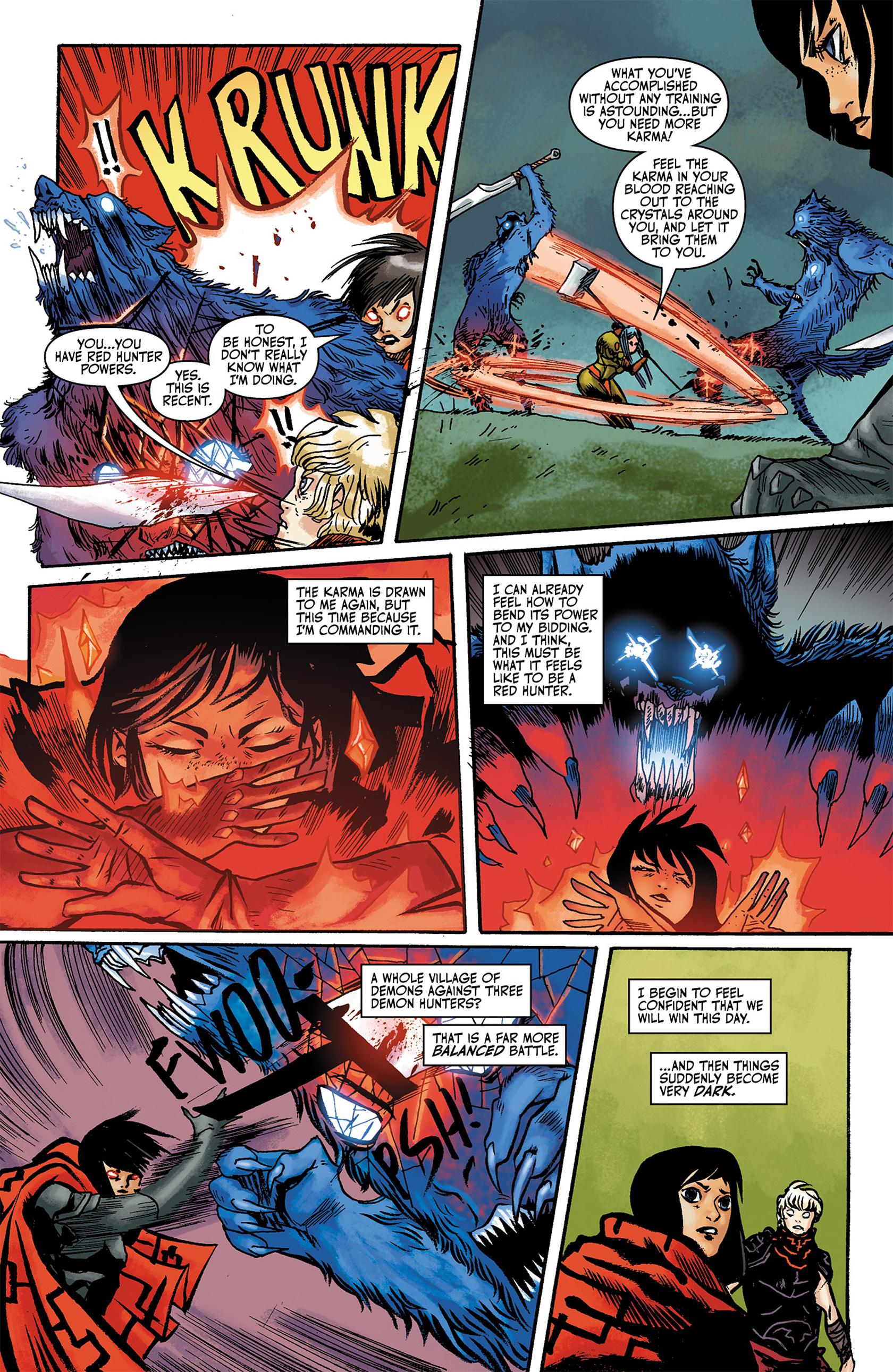 Read online Akaneiro comic -  Issue #3 - 11