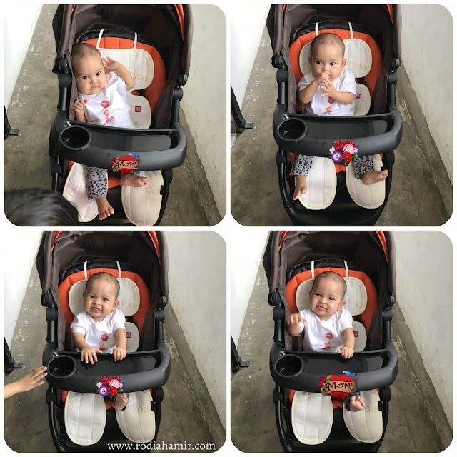 review Mamaway 3D Shock Proof Universal Stroller Liner