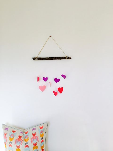 Valentine Day wall hanging