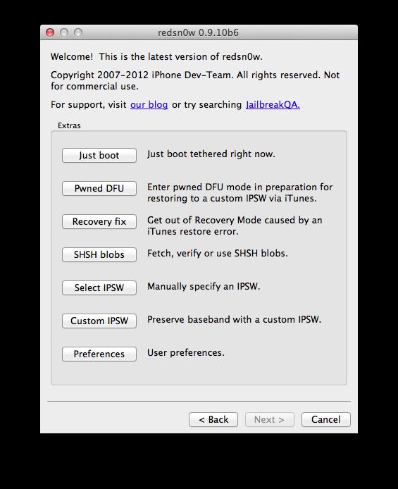 Telecharger 0.9.10b6 Redsnow Download