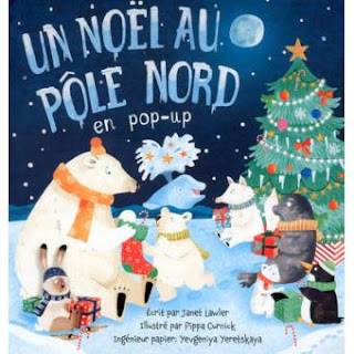 Un Noël au Pôle Nord en pop up - Editions Thomas Jeunesse