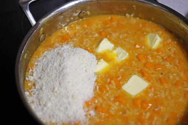 Ριζότο με Κολοκύθα και Τραγανό Προσούτο / Pumpkin Risotto with Crispy Prosciutto