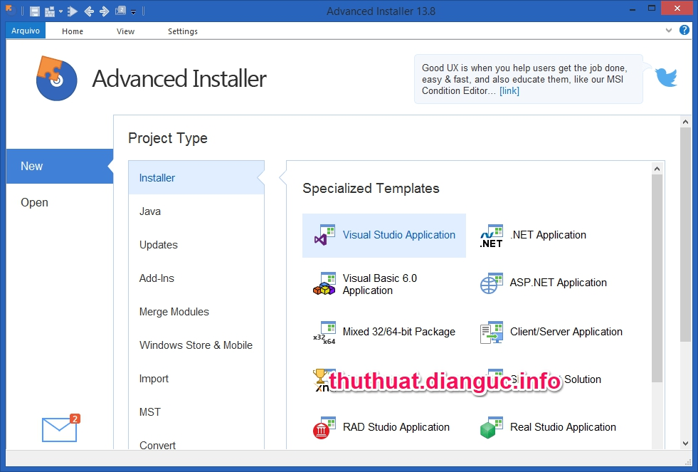 Download Advanced Installer Architect 15.0.1 Full Cr@ck