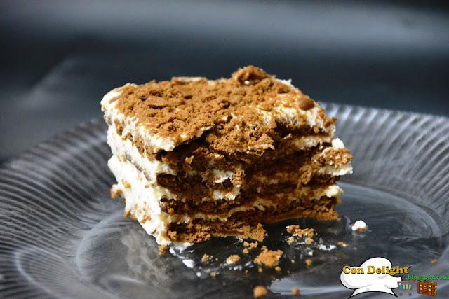 עוגת ביסקויטים petit beurre cake