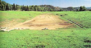Αποτέλεσμα εικόνας για αρχαιο σταδιο ολυμπιας