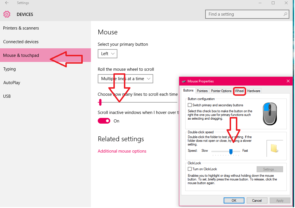 Learn New Things: How to Adjust Mouse Speed & Scroll in ...