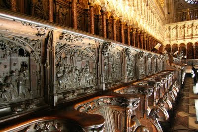 Tres Culturas El Coro De La Catedral De Toledo