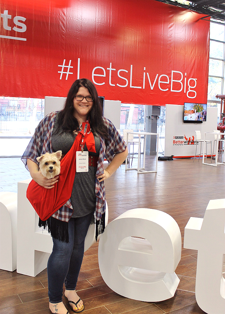 The annual Nestle Purina #BetterWithPets Summit in Brooklyn, NY aimed to inspire through nutritional reserach, a puppy kitten therapy booth, and philanthropic initiatives. AD