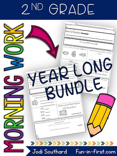 https://www.teacherspayteachers.com/Product/2nd-Grade-Morning-Work-Year-Long-Bundle-2584543