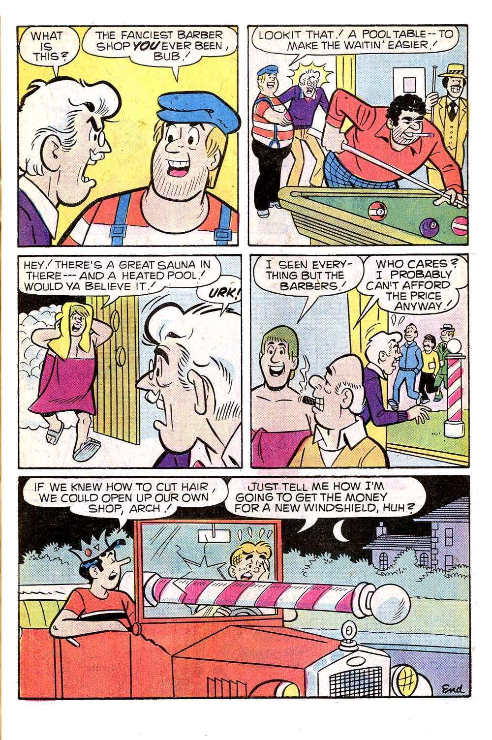 Read online Archie (1960) comic -  Issue #266 - 7