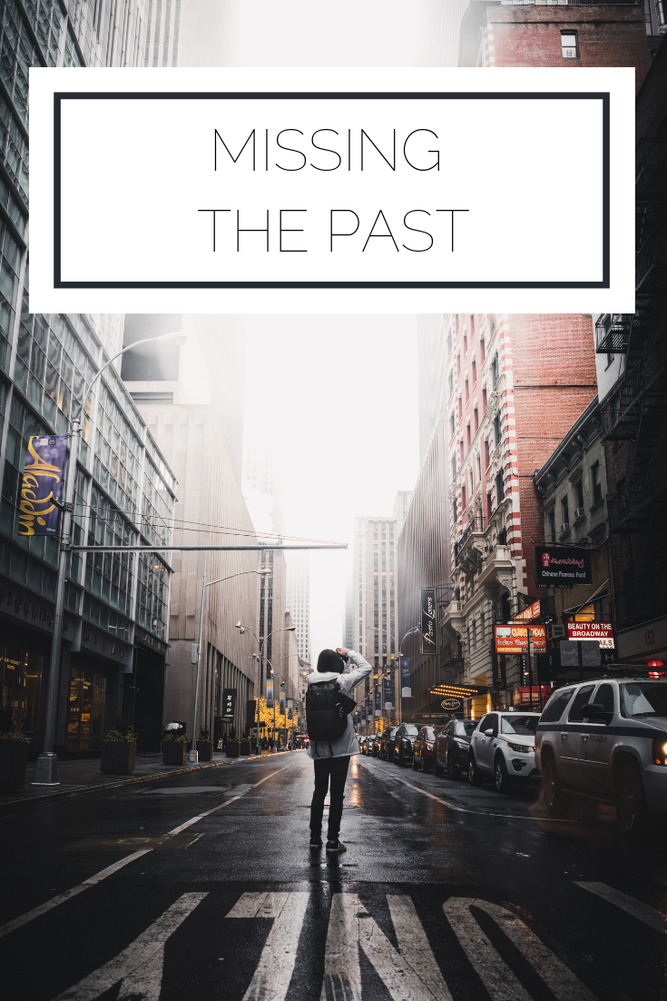 Click to read now or pin to save for later! Today I'm musing about my longing for the past and how it's impacting the present
