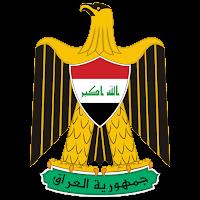 Logo Gambar Lambang Simbol Negara Irak PNG JPG ukuran 200 px