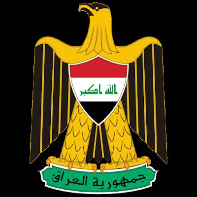 Coat of arms - Flags - Emblem - Logo Gambar Lambang, Simbol, Bendera Negara Irak