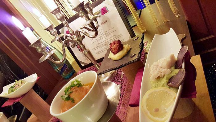 Candle Light Dinner in der M Lounge Hermanngasse 31 1070 Wien