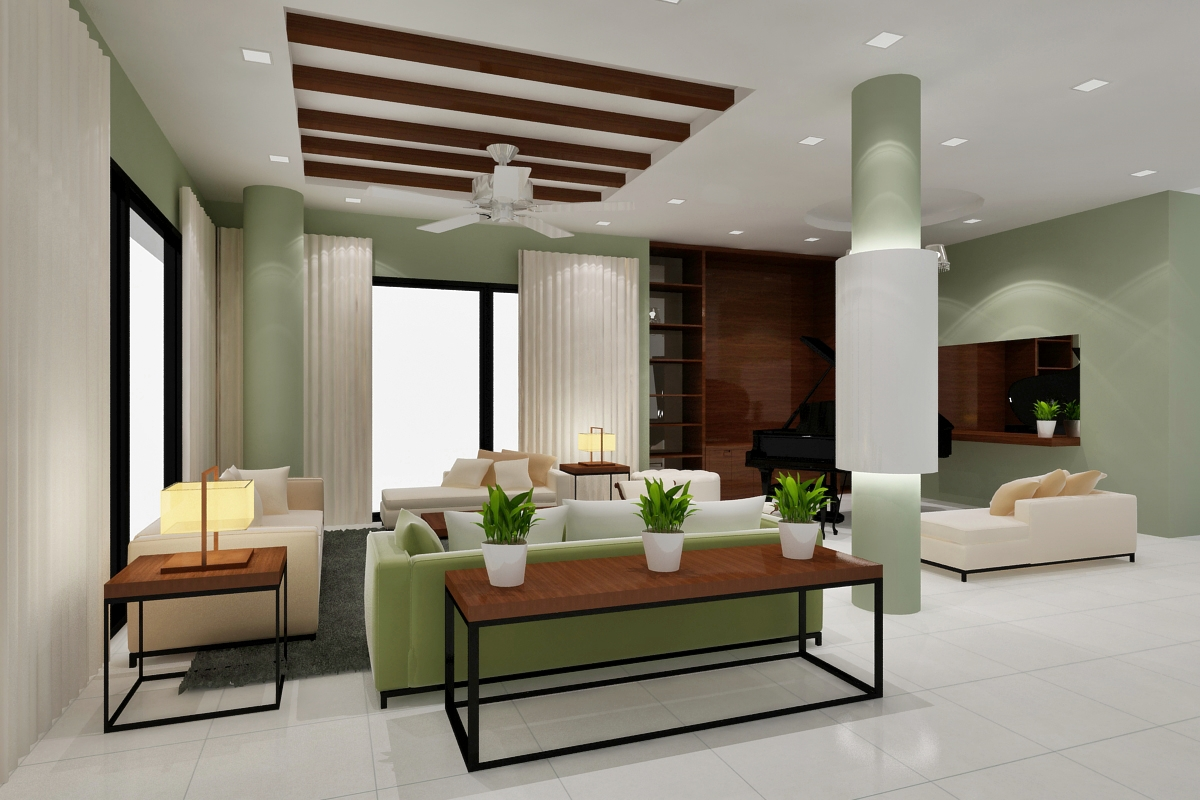 Sarang interiors modern tropical interior design by for Interior design
