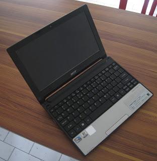 jual acer, netbook bekas, acer d255 bekas