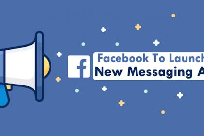 Facebook Rilis Aplikasi Messenger Khusus Remaja