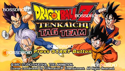 Dragon Ball Z Tenkaichi Tag Team PPSSPP PSP ISO CSO