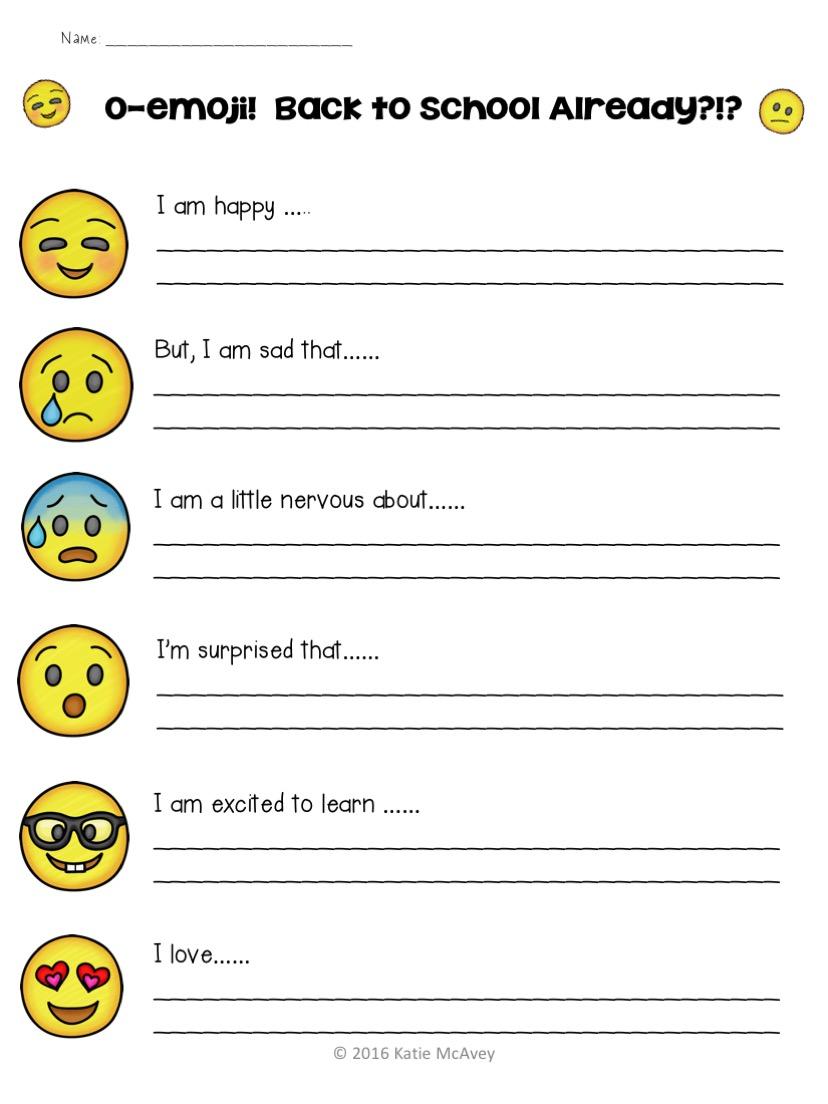 Motivational Ms  Mac : O-Emoji?! Back to school already?