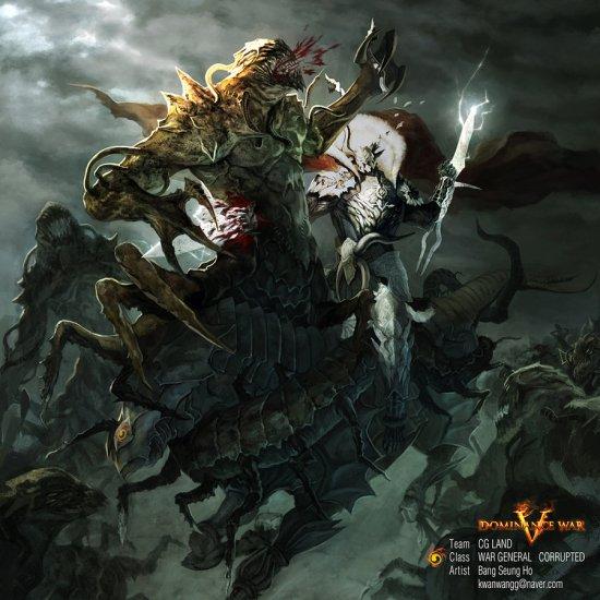 Victor Bang deviantart ilustrações fantasia games fan arts