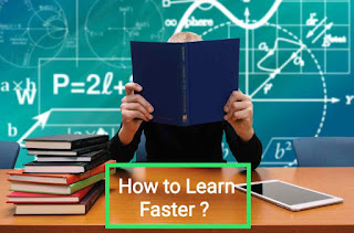 How to learn faster