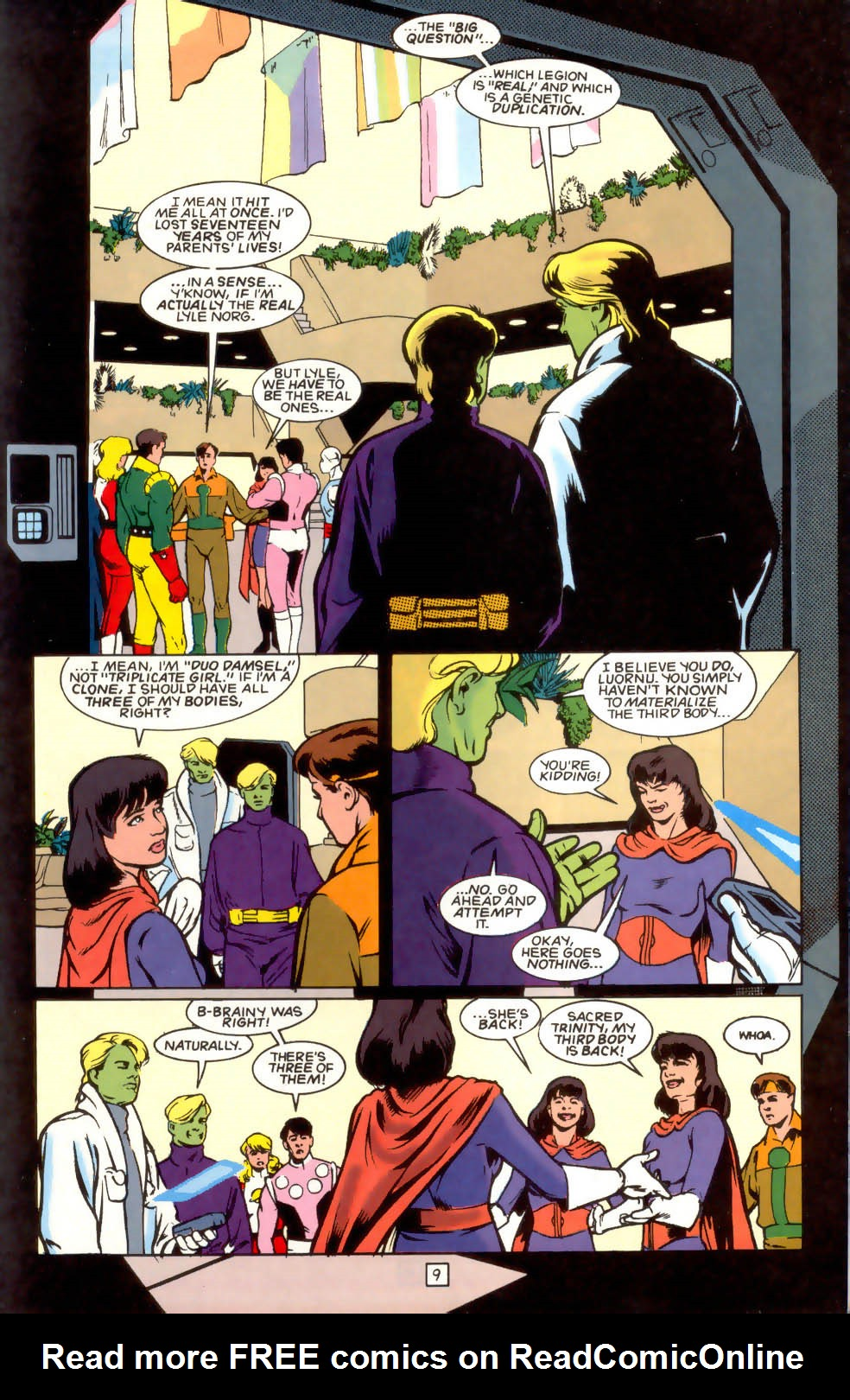 Legion of Super-Heroes (1989) 41 Page 9