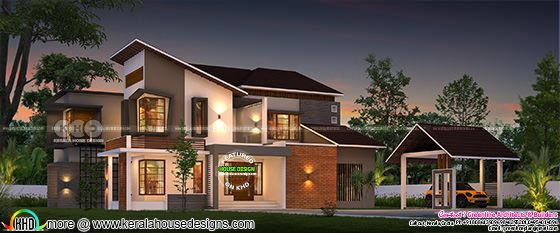4 bedroom luxury 3726 sq-ft contemporary home