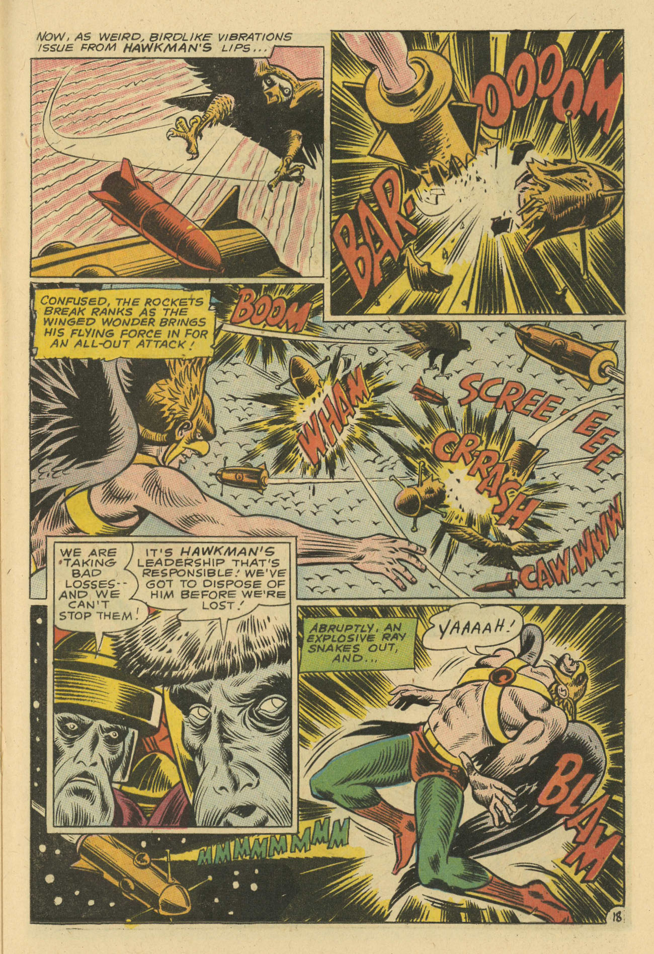 Hawkman (1964) issue 24 - Page 21