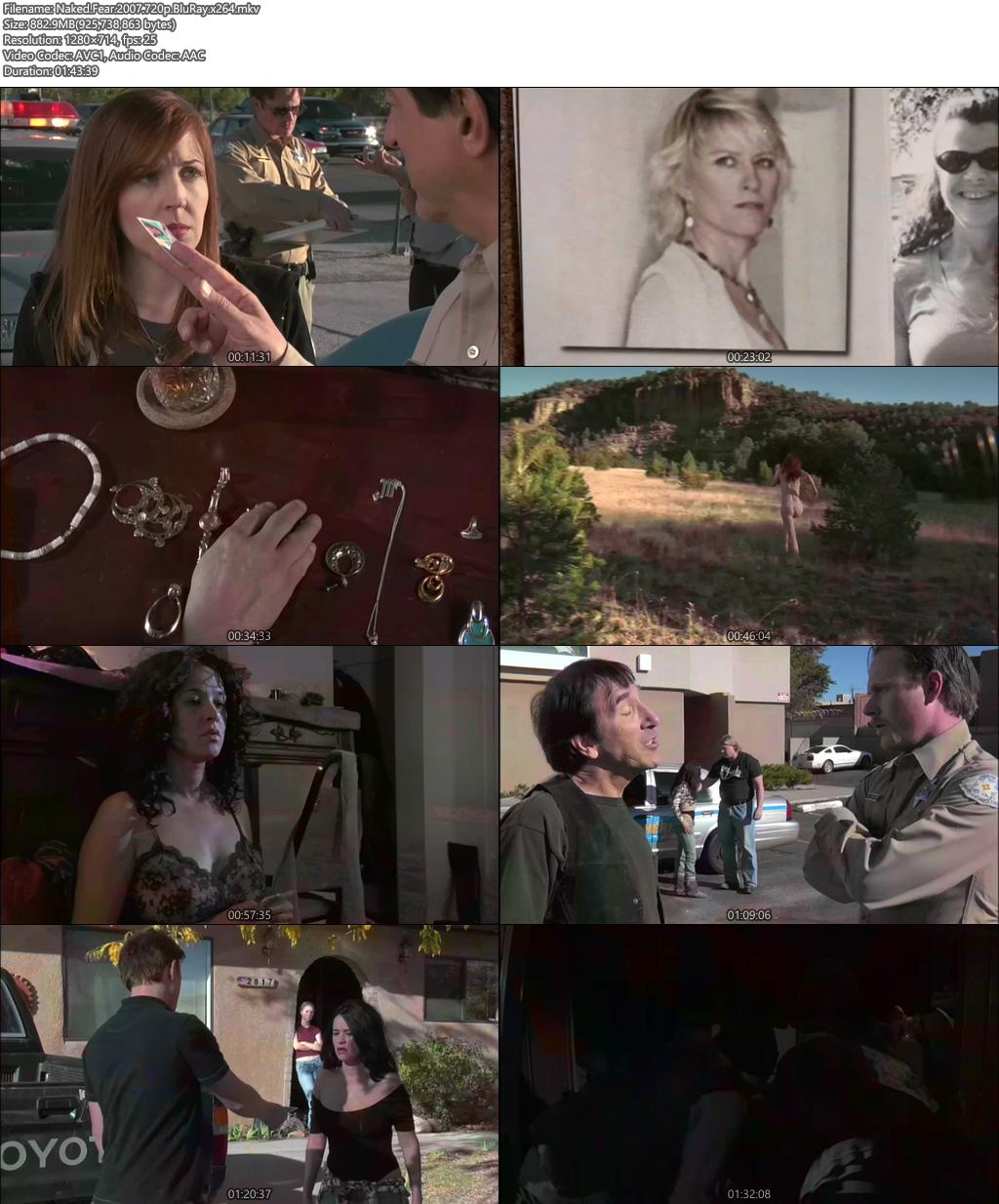 Naked Fear 2007 720p BluRay x264 | 480p 300MB | 100MB HEVC Screenshot