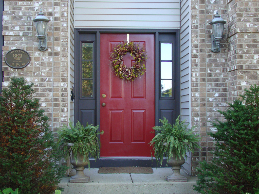 skoots and cuddles: diy: painting my front door