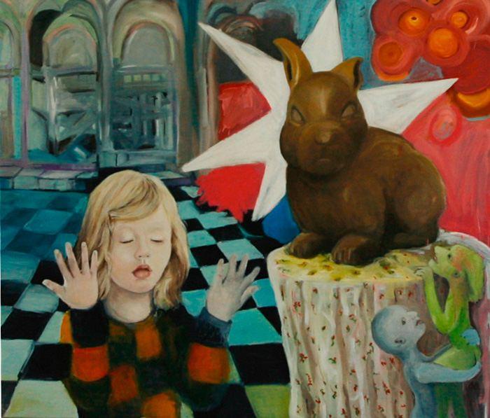 Зондирующий реализм. Regine Kuschke