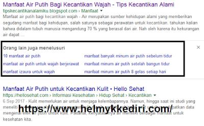 Cara mengetahui hidden keyword dari google2