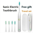 Sonic Electric Toothbrush social REVIEW
