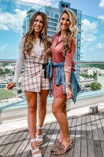 30 Trendy Fall Clothing Ideas for Every Day of Month | Velvet Mini Dress+ Steve Madden Loafer Flats